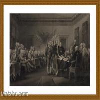 【超顶级】SM9196459-名作底稿-美国独立战争政府要员会议高清图片-120M-8007X5238