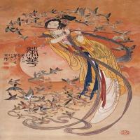 華三川工筆人物作品圖集(2)