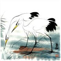 林楓眠國畫水墨畫作品集(1)
