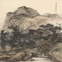 陳少梅國畫水墨畫作品集(2)