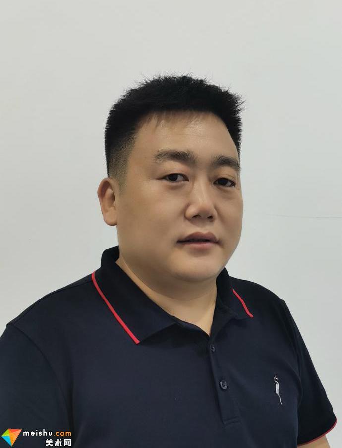 青花泼墨山水艺术家——黄永胜