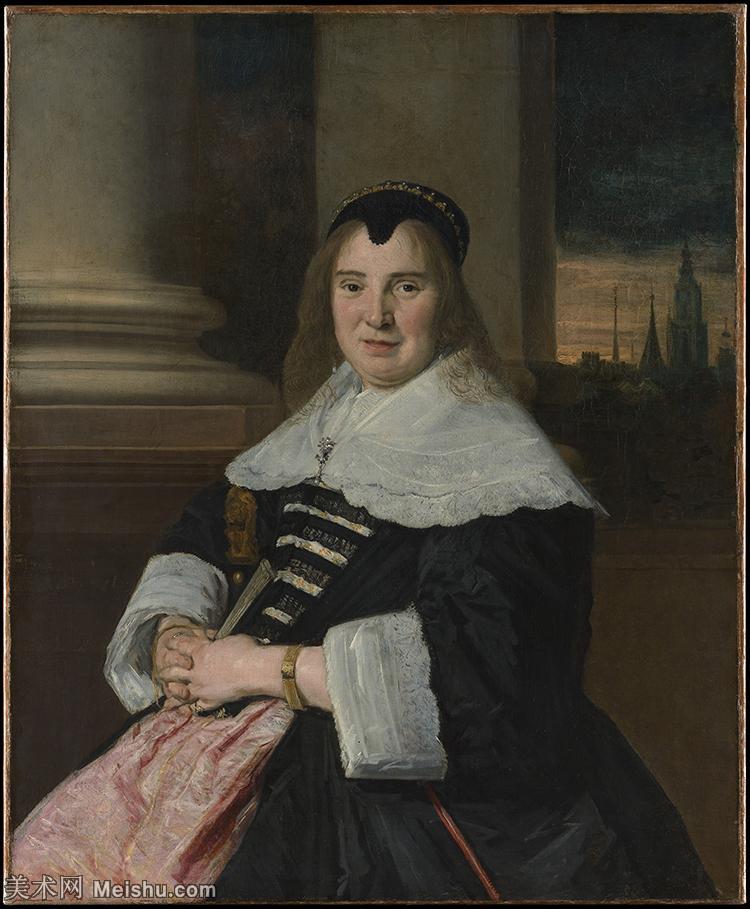 【打印级】YHR15150462-荷兰17世纪著名肖像画家德克哈尔斯Dirck Hals油画人物作品高清图片-32M-3