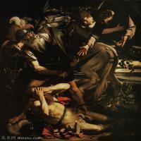 【印刷级】YHR15114046-意大利画家卡拉瓦乔Caravaggio油画人物高清图片The Conversion of Saint Paul (c._1600-1)-78M-4688X5852
