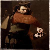 【打印级】YHR15114022-意大利画家卡拉瓦乔Caravaggio油画人物高清图片The Locksmith-37M-3269X4016