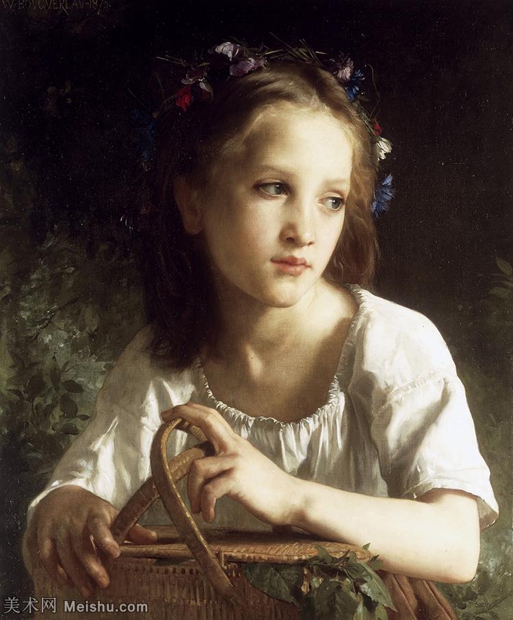 【印刷级】YHR171341161-法国学院派画家威廉阿道夫布格罗Bouguereau Adolphe William油