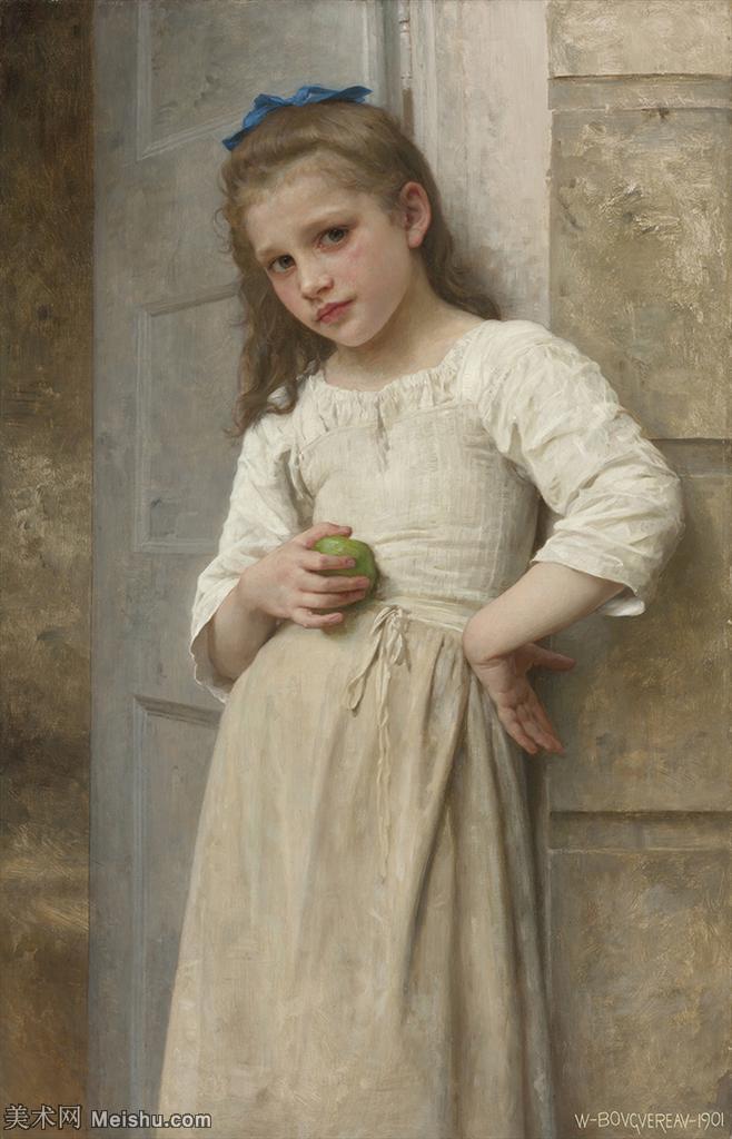【打印级】YHR171341135-法国学院派画家威廉阿道夫布格罗Bouguereau Adolphe William油
