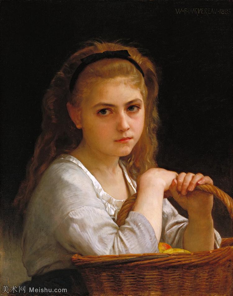 【欣赏级】YHR171341101-法国学院派画家威廉阿道夫布格罗Bouguereau Adolphe William油