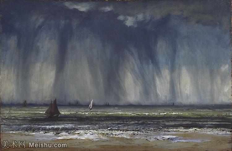 【打印级】YHR17144620-法国写实派画家居斯塔夫库尔贝Gustave Courbet高清作品图片-21M-341