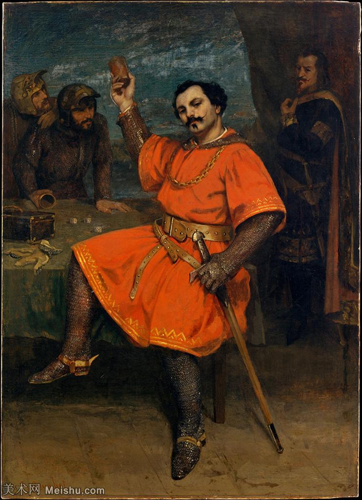【打印级】YHR17144628-法国写实派画家居斯塔夫库尔贝Gustave Courbet高清作品图片-28M-269