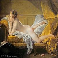 【印刷级】YHR171349241-法国洛可可风格画派画家弗朗索瓦布歇Francois Boucher油画作品高清图片肖像画古典宫廷油画高清图片-60M-5138X4140