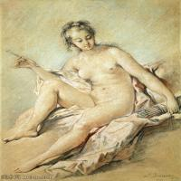 【印刷级】YHR171349231-法国洛可可风格画派画家弗朗索瓦布歇Francois Boucher油画作品高清图片肖像画古典宫廷油画高清图片-51M-3607X4996