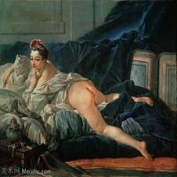 【印刷级】YHR171349261-法国洛可可风格画派画家弗朗索瓦布歇Francois Boucher油画作品高清图片肖像画古典宫廷油画高清图片-76M-5722X4673