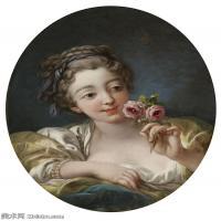 【印刷级】YHR171349268-法国洛可可风格画派画家弗朗索瓦布歇Francois Boucher油画作品高清图片肖像画古典宫廷油画高清图片-93M-5826X5633 (2)