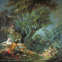【印刷级】YHR171349260-法国洛可可风格画派画家弗朗索瓦布歇Francois Boucher油画作品高清图片肖像画古典宫廷油画高清图片-76M-4714X5662