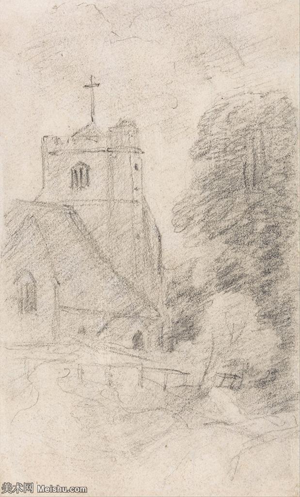 【打印级】YHR171501082-19世纪英格兰风景画家康斯坦布尔Constance欧洲风景画高清图片-25M-232
