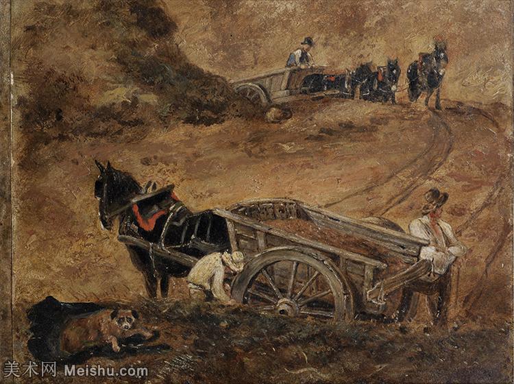 【欣赏级】YHR171501053-19世纪英格兰风景画家康斯坦布尔Constance欧洲风景画高清图片-19M-299