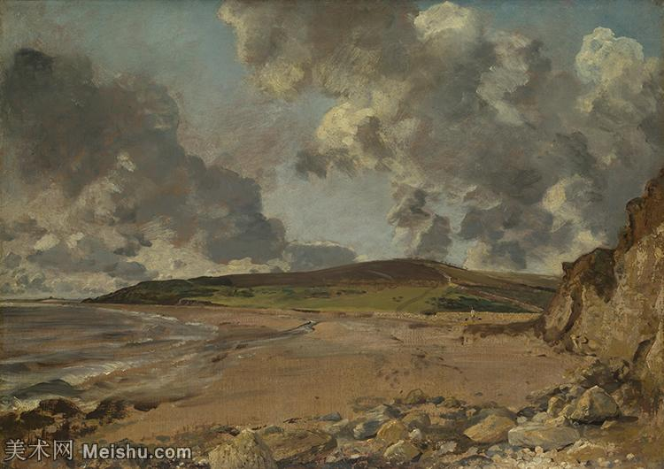 【印刷级】YHR171501189-19世纪英格兰风景画家康斯坦布尔Constance欧洲风景画高清图片-72M-598
