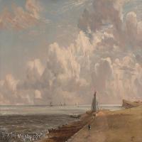 【印刷级】YHR171501203-19世纪英格兰风景画家康斯坦布尔Constance欧洲风景画高清图片-99M-7411X4697