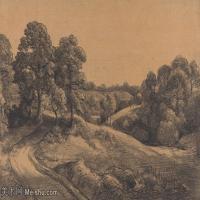 【印刷级】YHR171501202-19世纪英格兰风景画家康斯坦布尔Constance欧洲风景画高清图片-98M-7200X4801