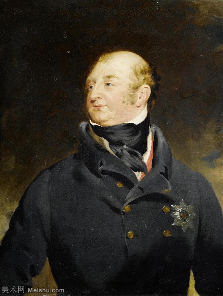 【打印级】YHR180916064-英国画家托马斯劳伦斯Sir Thomas Lawrence肖像画家油画人物高清图片肖