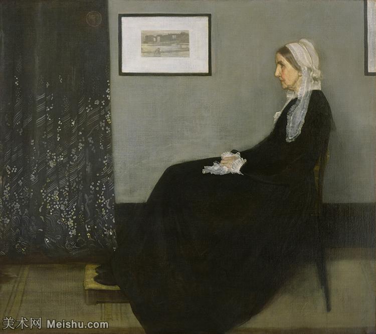 【印刷级】YHR18083768-美国画家惠斯勒James Abbott McNeill Whistler油画作品高清图