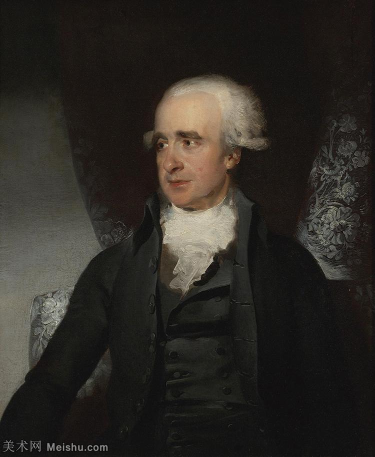 【欣赏级】YHR180916014-英国画家托马斯劳伦斯Sir Thomas Lawrence肖像画家油画人物高清图片肖