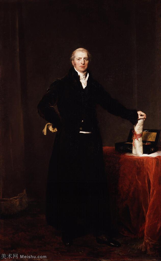 【打印级】YHR180916092-英国画家托马斯劳伦斯Sir Thomas Lawrence肖像画家油画人物高清图片肖