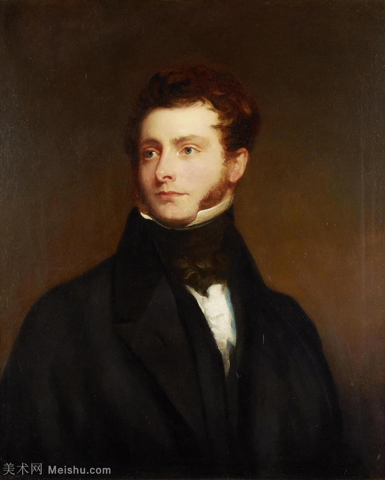 【打印级】YHR180916067-英国画家托马斯劳伦斯Sir Thomas Lawrence肖像画家油画人物高清图片肖