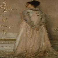 【欣赏级】YHR18083715-美国画家惠斯勒James Abbott McNeill Whistler油画作品高清图片-12M-1443X2960