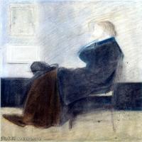 【印刷级】YHR18083756-美国画家惠斯勒James Abbott McNeill Whistler油画作品高清图片-51M-3871X4670