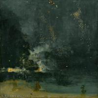【欣赏级】YHR18083723-美国画家惠斯勒James Abbott McNeill Whistler油画作品高清图片-15M-2030X2700