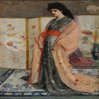 【欣赏级】YHR18083735-美国画家惠斯勒James Abbott McNeill Whistler油画作品高清图片-20M-2000X3533
