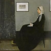 【印刷级】YHR18083768-美国画家惠斯勒James Abbott McNeill Whistler油画作品高清图片-88M-5897X5247