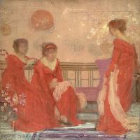 【印刷级】YHR18083763-美国画家惠斯勒James Abbott McNeill Whistler油画作品高清图片-64M-4512X5017