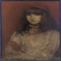 【欣赏级】YHR18083712-美国画家惠斯勒James Abbott McNeill Whistler油画作品高清图片-11M-1571X2537