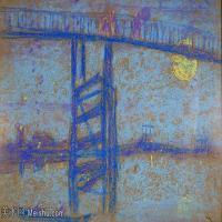 【欣赏级】YHR18083720-美国画家惠斯勒James Abbott McNeill Whistler油画作品高清图片-13M-2764X1761