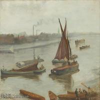 【印刷级】YHR18083764-美国画家惠斯勒James Abbott McNeill Whistler油画作品高清图片-67M-5670X4176