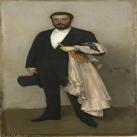 【印刷级】YHR18083755-美国画家惠斯勒James Abbott McNeill Whistler油画作品高清图片-46M-2740X5876