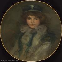 【印刷级】YHR18083760-美国画家惠斯勒James Abbott McNeill Whistler油画作品高清图片-63M-4127X5344