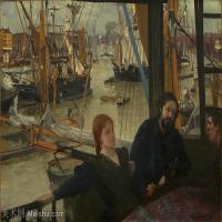 【欣赏级】YHR18083728-美国画家惠斯勒James Abbott McNeill Whistler油画作品高清图片-18M-3000X2095