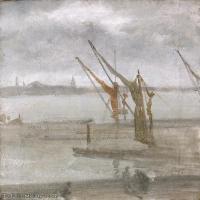 【欣赏级】YHR18083733-美国画家惠斯勒James Abbott McNeill Whistler油画作品高清图片-19M-2238X3000