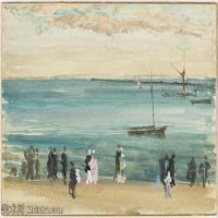 【印刷级】YHR18083761-美国画家惠斯勒James Abbott McNeill Whistler油画作品高清图片-64M-5601X4025