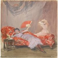 【印刷级】YHR18083766-美国画家惠斯勒James Abbott McNeill Whistler油画作品高清图片-68M-4277X5601