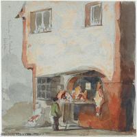 【印刷级】YHR18083758-美国画家惠斯勒James Abbott McNeill Whistler油画作品高清图片-59M-3690X5601