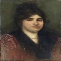 【欣赏级】YHR18083731-美国画家惠斯勒James Abbott McNeill Whistler油画作品高清图片-18M-2000X3274