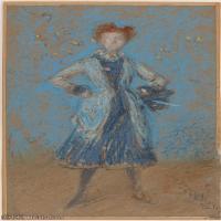 【印刷级】YHR18083754-美国画家惠斯勒James Abbott McNeill Whistler油画作品高清图片-46M-3065X5251