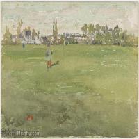 【印刷级】YHR18083757-美国画家惠斯勒James Abbott McNeill Whistler油画作品高清图片-54M-5601X3375