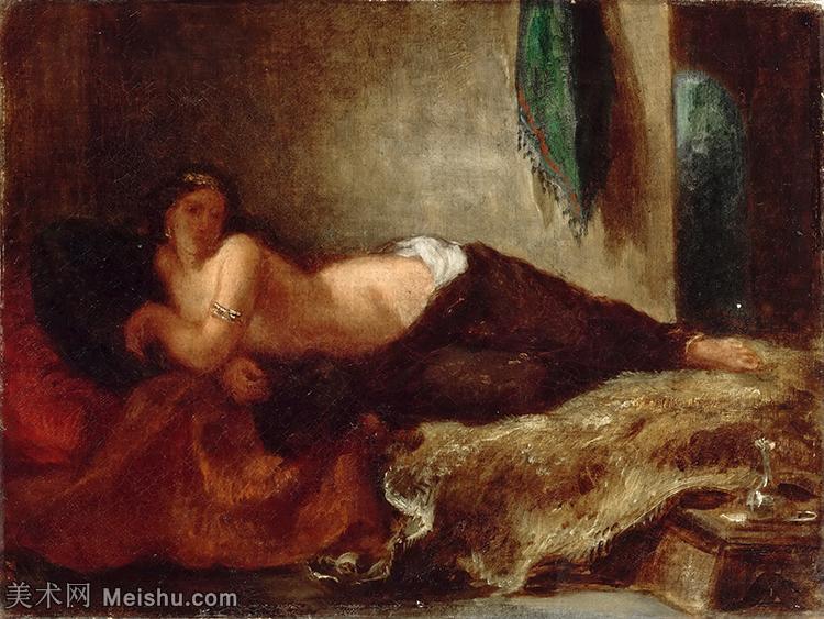 【打印级】YHR18090129-法国浪漫主义大师德拉克罗瓦Delacroix作品集高清大图下载法国画家油画风景作品高清