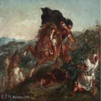 【欣赏级】YHR18090105-法国浪漫主义大师德拉克罗瓦Delacroix作品集高清大图下载法国画家油画风景作品高清大图风景油画高清图片-7M-1999X1359