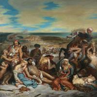 【欣赏级】YHR18090112-法国浪漫主义大师德拉克罗瓦Delacroix作品集高清大图下载法国画家油画风景作品高清大图风景油画高清图片-9M-1696X1997